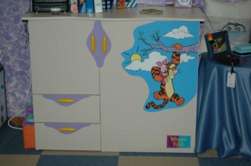 meubelen - Winnie the Pooh slaapkamer - Zoekertjes.net
