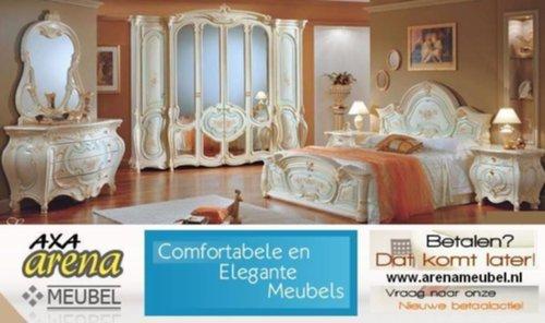 Italiaanse Slaapkamer Meubels : Meubelen epoque italiaanse hoogglans slaapkamer meubelen axa