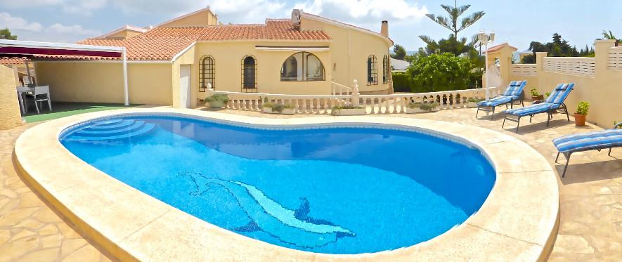 Vakantiewoningen villa costa blanca met prive zwembad for Zwembad prive