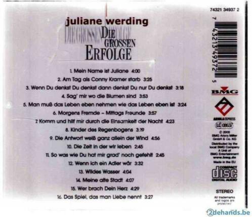 allerlei - CD Juliane Werding Die Grossen Erfolge ...