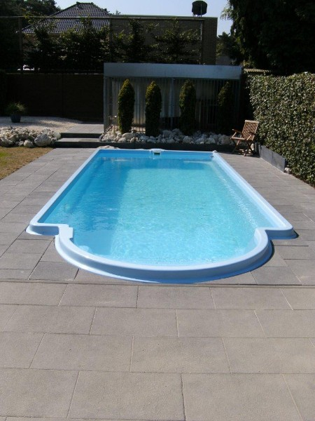 Tuin en tuinmachines zwembad monoblok ikari for Polyester zwembad goedkoop